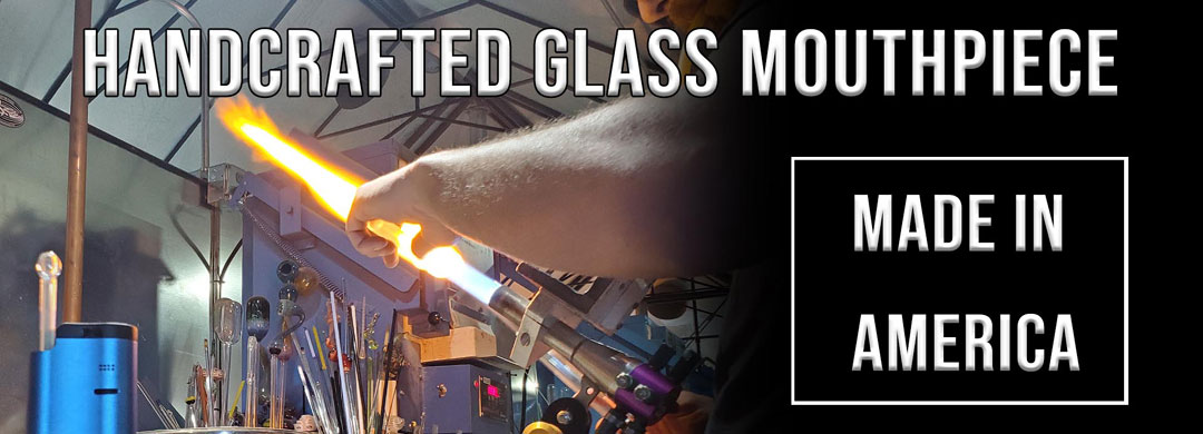 Elve8 Glass SideKick Portable Vaporizer Hand Blown Glass USA 7th Floor Vapes